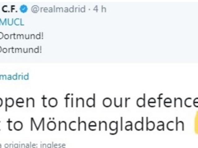 """Moenchengladbach, appello al Real Madrid: """"Se trovate la nostra difesa mandatecela"""""""
