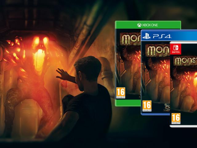 Monstrum è ora disponibile in versione fisica per console