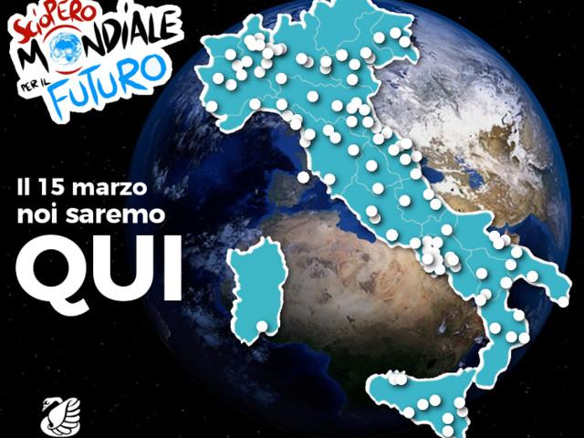 Global strike for future, anche Legambiente in piazza il 15 marzo