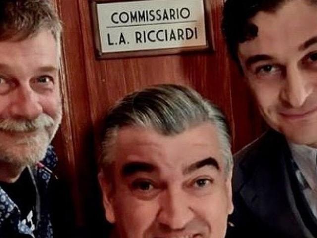 Concluse le riprese de Il Commissario Riccardi con Lino Guanciale