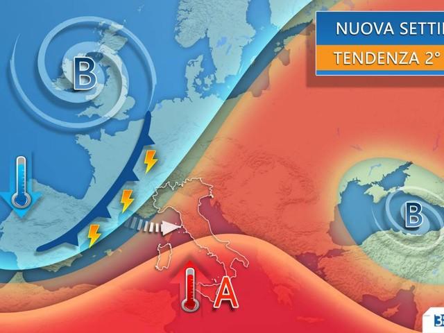 Meteo: CAMBIA TUTTO in settimana, IRROMPE L'AUTUNNO su buona parte dell'Italia. Ecco dove