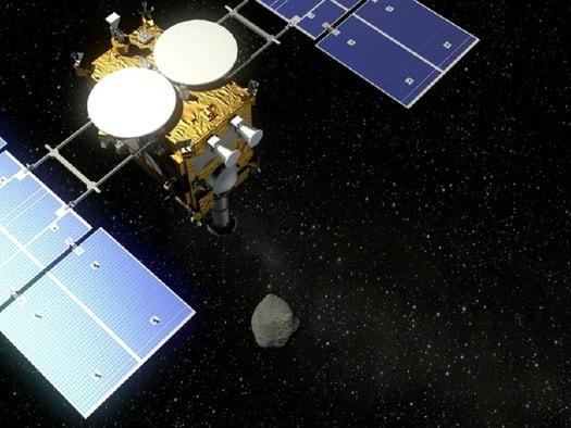 Hayabusa 2, la sonda giapponese, atterra sull'asteroide Ryugu: touchdown riuscito