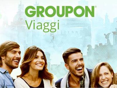 Codice promo Groupon: 10€ di sconto su coupon viaggi