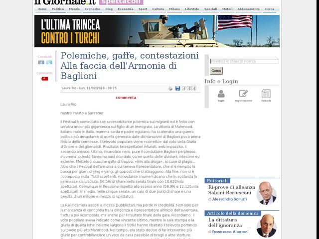 Polemiche, gaffe, contestazioni Alla faccia dell'Armonia di Baglioni