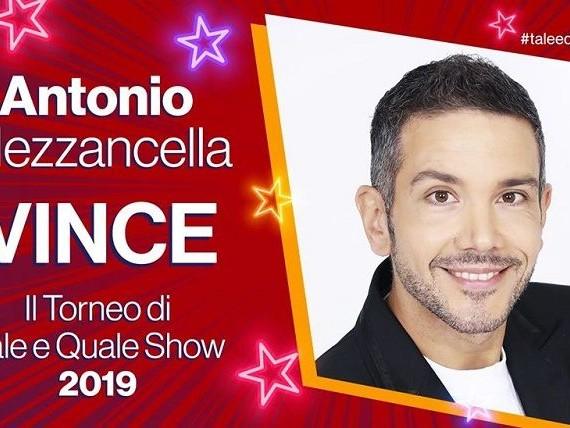 'Tale e Quale Show – Il Torneo 2019', Antonio Mezzancella vince la finalissima! Ecco il posizionamento definitivo di Francesco Monte