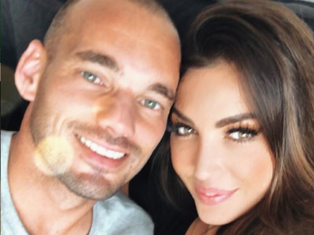"""L'ex Inter Sneijder una furia: """"Io e Yolanthe? Tante bugie, chi è senza cervello crede a tutto"""""""