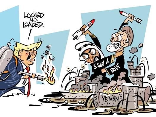 Usa e Arabia Saudita: l'attacco agli impianti petroliferi è un atto di guerra dell'Iran