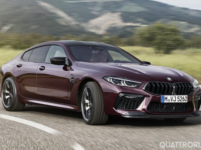 BMW M8 - Fino a 625 CV anche per la Gran Coupé