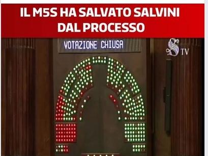 Caso Diciotti: Senato nega autorizzazione a procedere. Pd il M5S salva Salvini dal processo