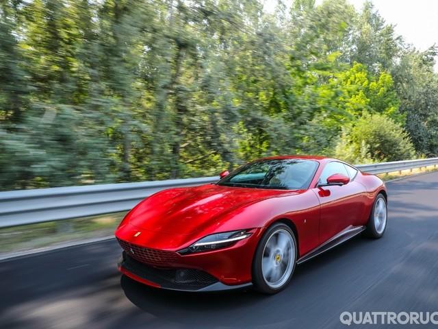 Ferrari Roma - Al volante della Rossa che non c'era