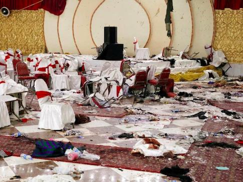 Strage al banchetto nuziale in Afghanistan, 63 morti e 182 feriti