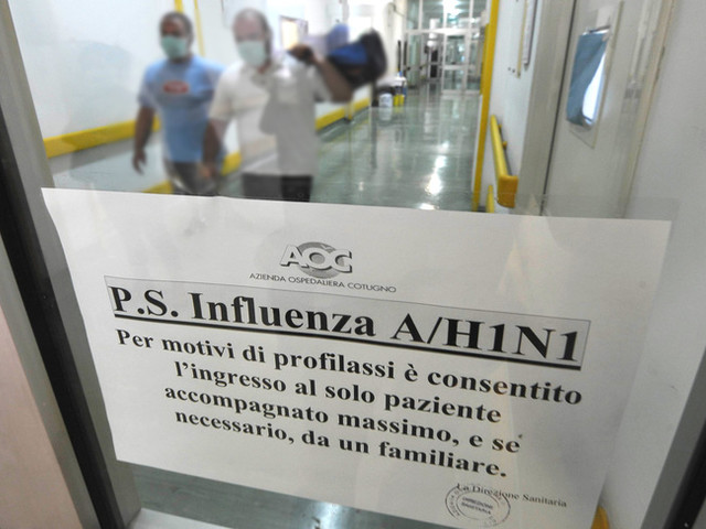 Influenza: 2 ricoverati ad Enna con virus H1N1 pandemico