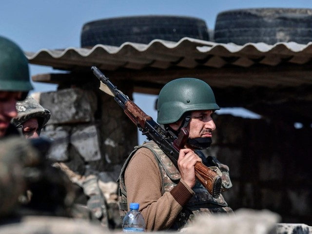 Armenia and Azerbaijan clash despite new truce