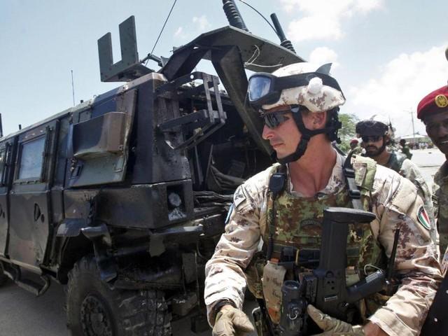 Attacco contro militari italiani a Mogadiscio: nessuna vittima