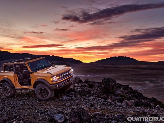 Ford Bronco - Il pacchetto Sasquatch sarà disponibile anche con il cambio manuale