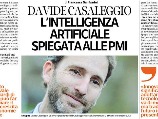 L'intelligenza artificiale spiegata alle PMI