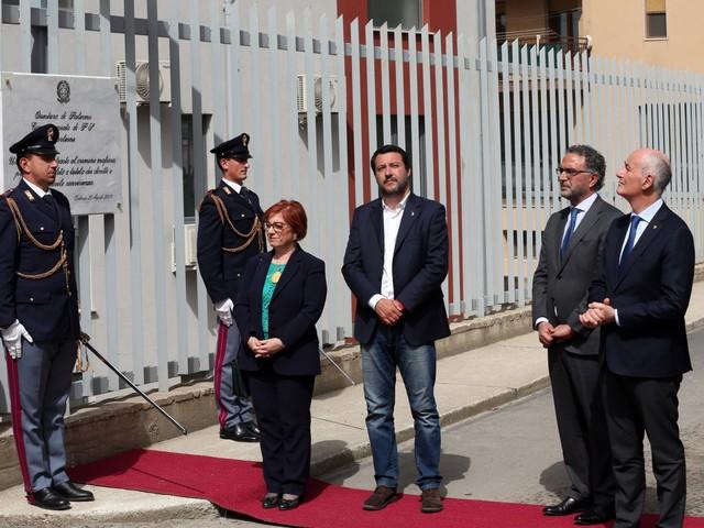 """Salvini in Sicilia dichiara guerra alla mafia: """"Farò di tutto per combatterla"""""""