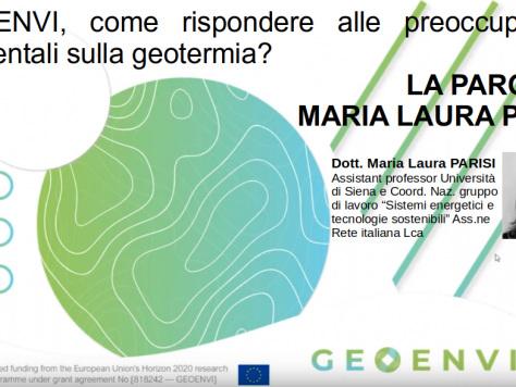 Geoenvi, come rispondere alle preoccupazioni ambientali sulla geotermia? La parola a Maria Laura Parisi