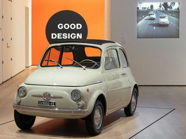 La Fiat 500 esposta al MoMA di New York