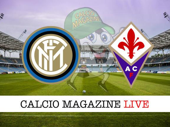 Inter – Fiorentina: cronaca diretta live, risultato in tempo reale