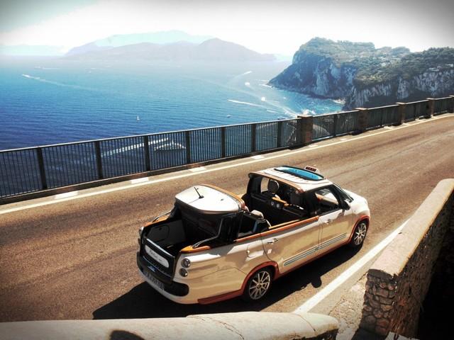 Castagna Tiberio GranOpen - I nuovi taxi scoperti a Capri