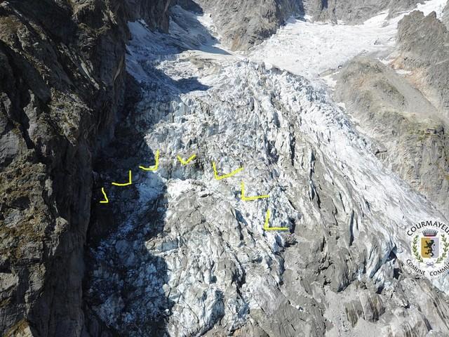 Rischio crollo del ghiacciaio Planpincieux, il sindaco di Courmayeur: montagna in forte cambiamento dovuto ai fattori climatici
