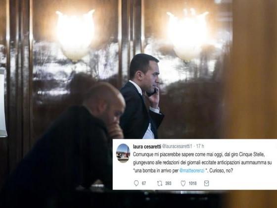 I parlamentari M5S sapevano già ieri pomeriggio dell'arresto dei Renzi?