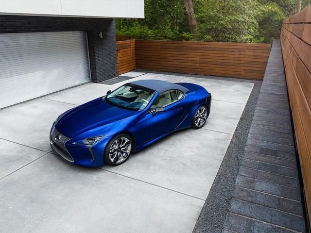 Lexus LC 500 Convertible: arriva l'esclusiva Regatta Edition