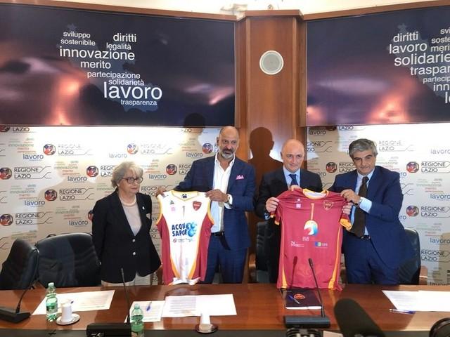 La Roma Volley Club ha presentato la stagione e la nuova maglia