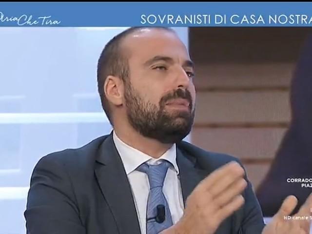 """Mes, Marattin litiga in tv e attacca il conduttore: """"Me ne vado"""""""
