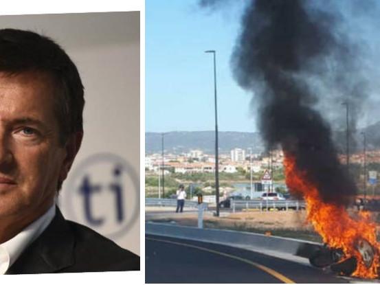 Incidente in vacanza per Giorgio Gori. Le fiamme all'improvviso
