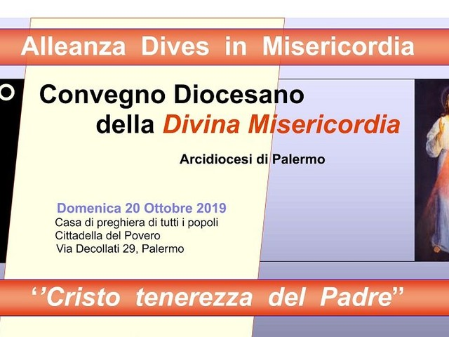 Ai Decollati il Convegno della Diocesi di Palermo sulla della Divina Misericordia