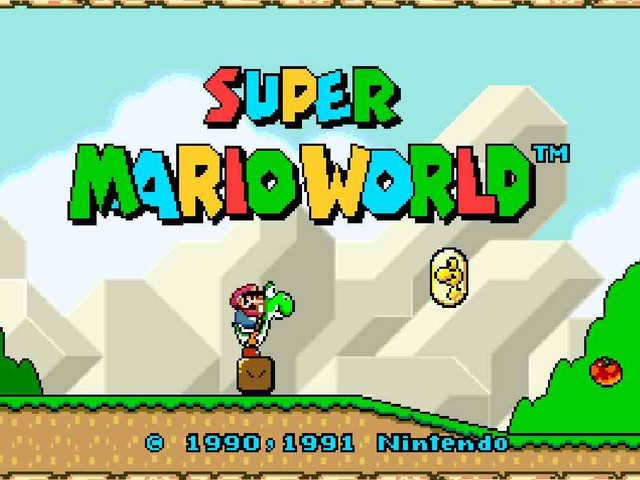 Da oggi potremo giocare Super Mario World in widescreen