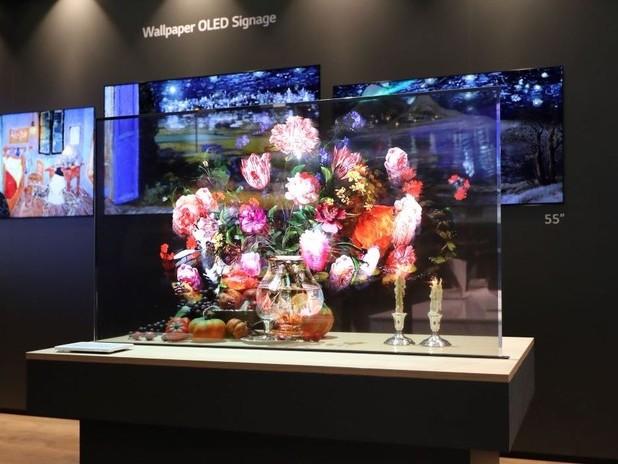 Lo spettacolare schermo OLED trasparente di LG è disponibile in Italia