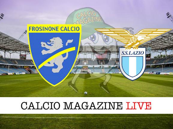 Frosinone – Lazio: cronaca diretta live, risultato in tempo reale