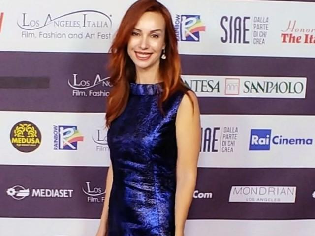 Gioia Libardoni: l'attrice ospite al Los Angeles Italia Film Fest