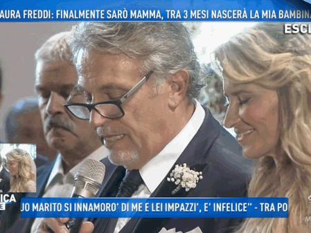 Andrea Roncato si è sposato con Nicole Moscariello
