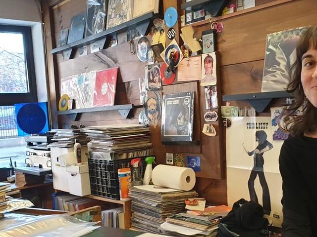 Il Record Store Day a New York, nel negozio di fiducia di Jimmy Page