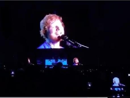 Ed Sheeran: la scaletta del concerto a Firenze Rocks!