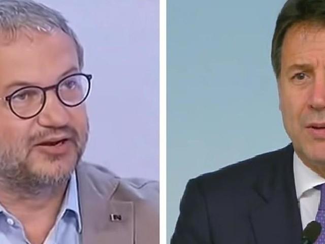 Mes, Conte alla Camera, Borghi (Lega): 'Discorso vergognoso, a Di Maio sta dando del c...'