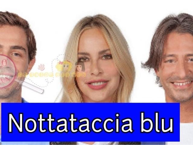 'Grande Fratello Vip' Scoppia la stanza blu nella notte: Tommaso Zorzi in lite contro Francesco Oppini che lo vuole abbandonare e Stefania Orlando che lo difende abbandona il suo letto e Maria Teresa Ruta scoppia in lacrime