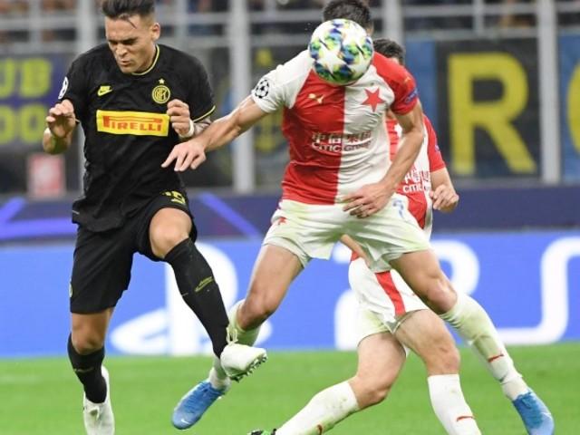 Barella salva l'Inter in Champions Con lo Slavia Praga pari al 92'