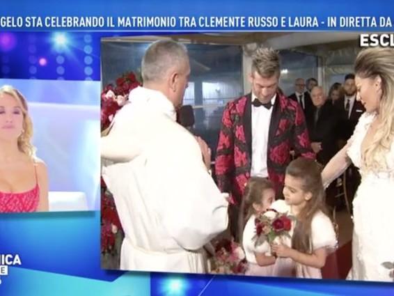 """Clemente Russo risposa Laura Maddaloni in tv: """"Risposo lei e le nostre 3 figlie"""""""