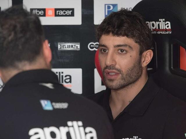 """MotoGP, Iannone: """"Team Aprilia fantastico, abbiamo le idee chiare"""""""