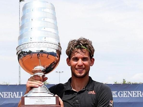 Dominic Thiem vince le Austrian Tennis Series