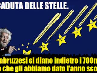 Abruzzo, la caduta delle stelle.