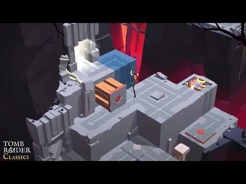 Lara Croft GO - Livello 6: La caverna di fuoco - Soluzione completa