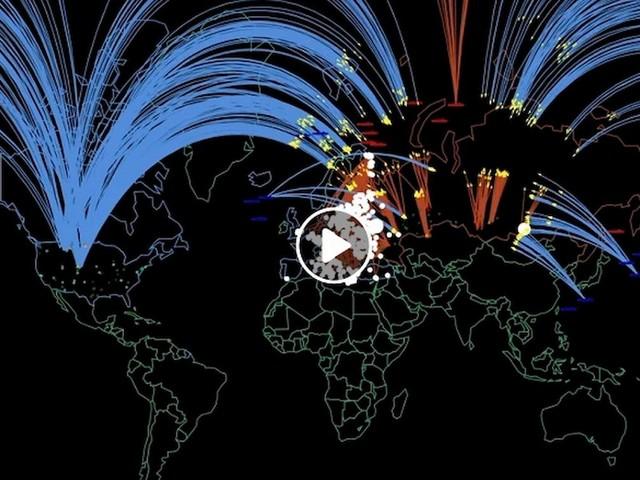 YOUTUBE Guerra nucleare Usa-Russia ucciderebbe 34 mln di persone in poche ore: la simulazione