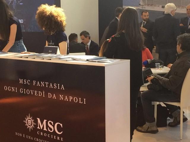MSC Crociere protagonista alla BMT di Napoli 2019