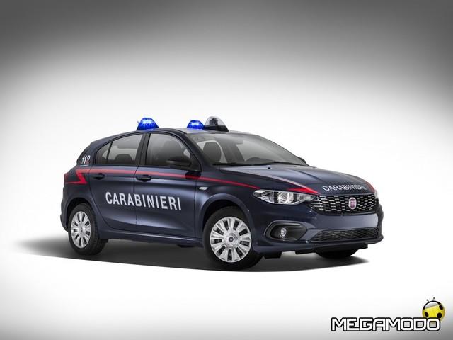 """FIAT Tipo """"arruolata"""" nell'Arma dei Carabinieri"""